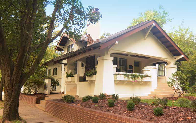 Craftsman historic louisville guide for Craftsman architectural style